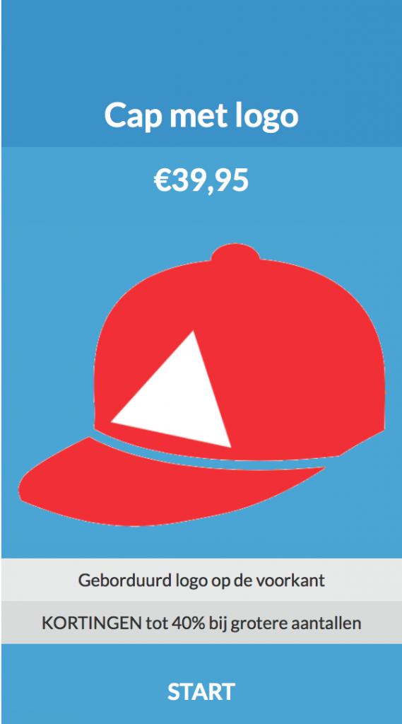 Cap met logo