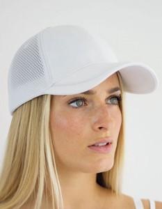 Witte Golf Cap witte mesh pet