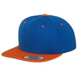 snapback-cap-2-tone-blauw-oranje