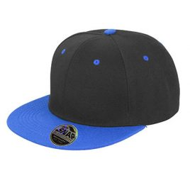 Bronx Cap Zwart Blauw