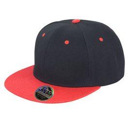Bronx Cap Zwart Rood