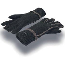 Comfort Thinsulate™ Handschoenen Zwart Grijs