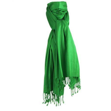Groene Pashmina sjaal