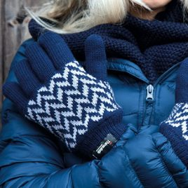 Pattern Thinsulate Handschoenen