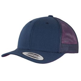 Retro Trucker Cap - Navy