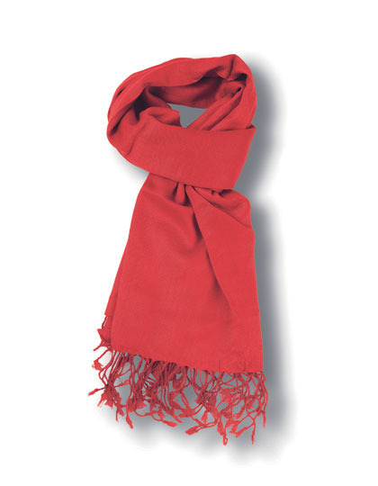pashma sjaal rood