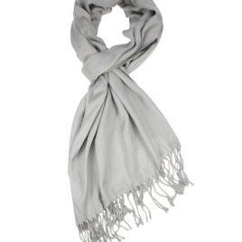 pashmina grijze sjaal