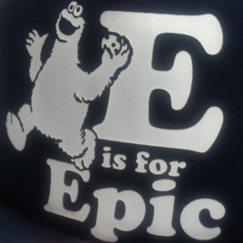 E Is For Epic Snapback