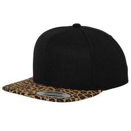 Leopard Snapback Cap