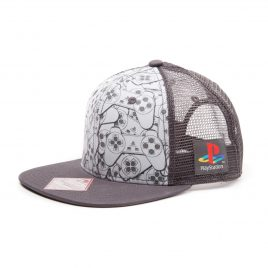 Playstation Controller Trucker Snapback
