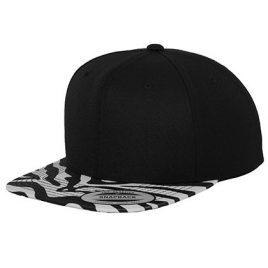 Zebra Snapback Cap