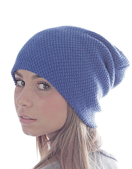 Paarse muts Snobby Hat