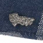 Embleem Stetson Flat Cap Texas Denim Patchwork-XL