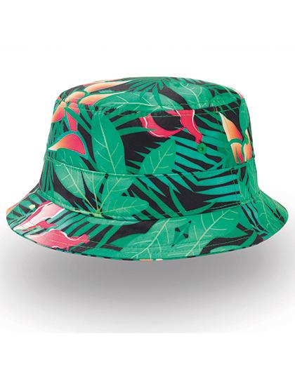 Green Fantasy kleurrijk hoedje