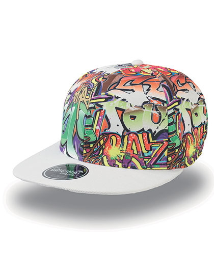Graffiti Cap - Pet met graffiti print