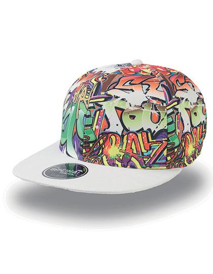 Graffiti Cap - Pet met graffiti print