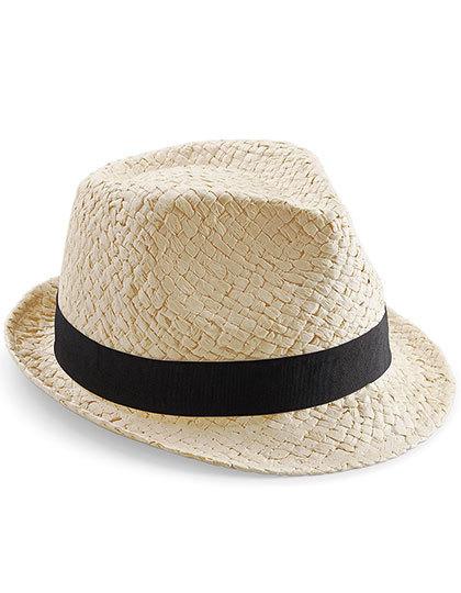 Kinder strohoed Junior Festival Trilby hoed