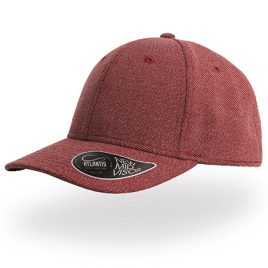 Loop Cap - bordeaux rode snapback