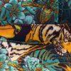 Sherlock Bucket Hoed tijger patroon detail