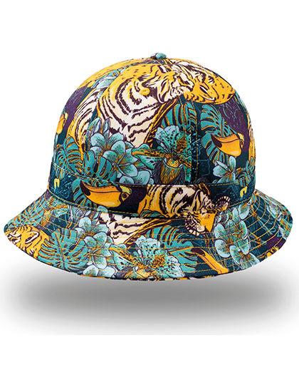 Sherlock Bucket Hoed tijger patroon