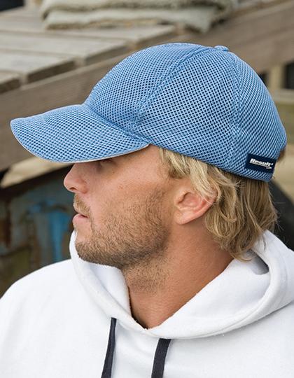 Sport Foam Mesh Cap blauwe pet