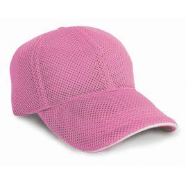 Sport Foam Mesh Cap - roze pet