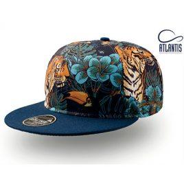 Tiger Cap - Pet met tijger print