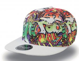 Graffiti Cap – Pet met graffiti print