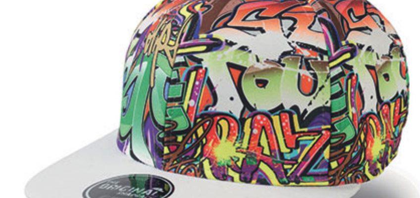 Graffiti Cap – Pet met graffiti print