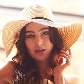 Marbella Sun hoed met brede rand