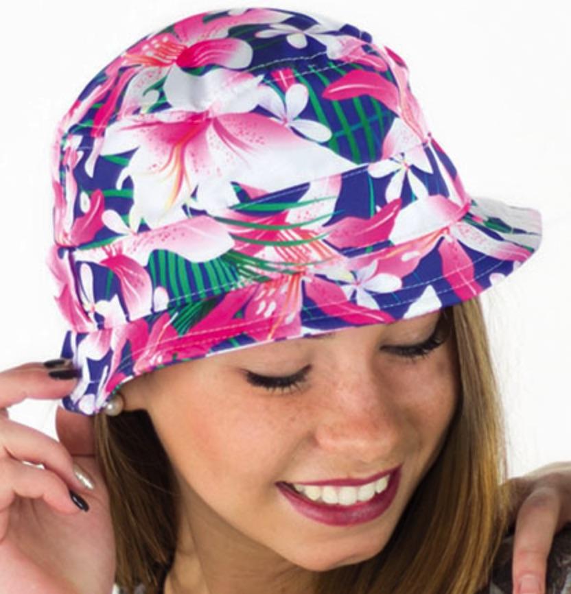 Pink Fantasy kleurrijk hoedje