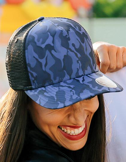 Rapper Camou Pet - blauw