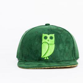 Veryus Green Kakapo - groene pet met uil