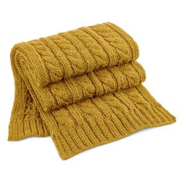 Sjaal Cable Knit Melange