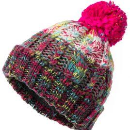 Kleurrijke muts Fancy Yarn kleurencombi 3