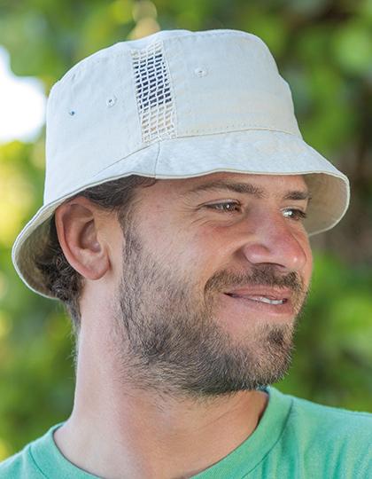 Deluxe Washed Cotton Bucket hoed naturel