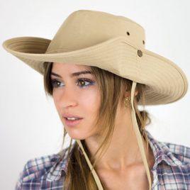 Katoenen Ranger hoed