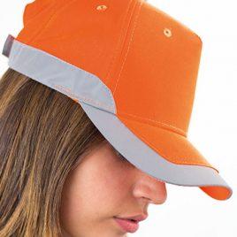 Oranje Fluo Cap