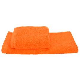 Oranje gast handdoekje 30 x 50 cm