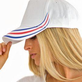 Rood Wit Blauw pet -Witte pet met Nederlandse vlag